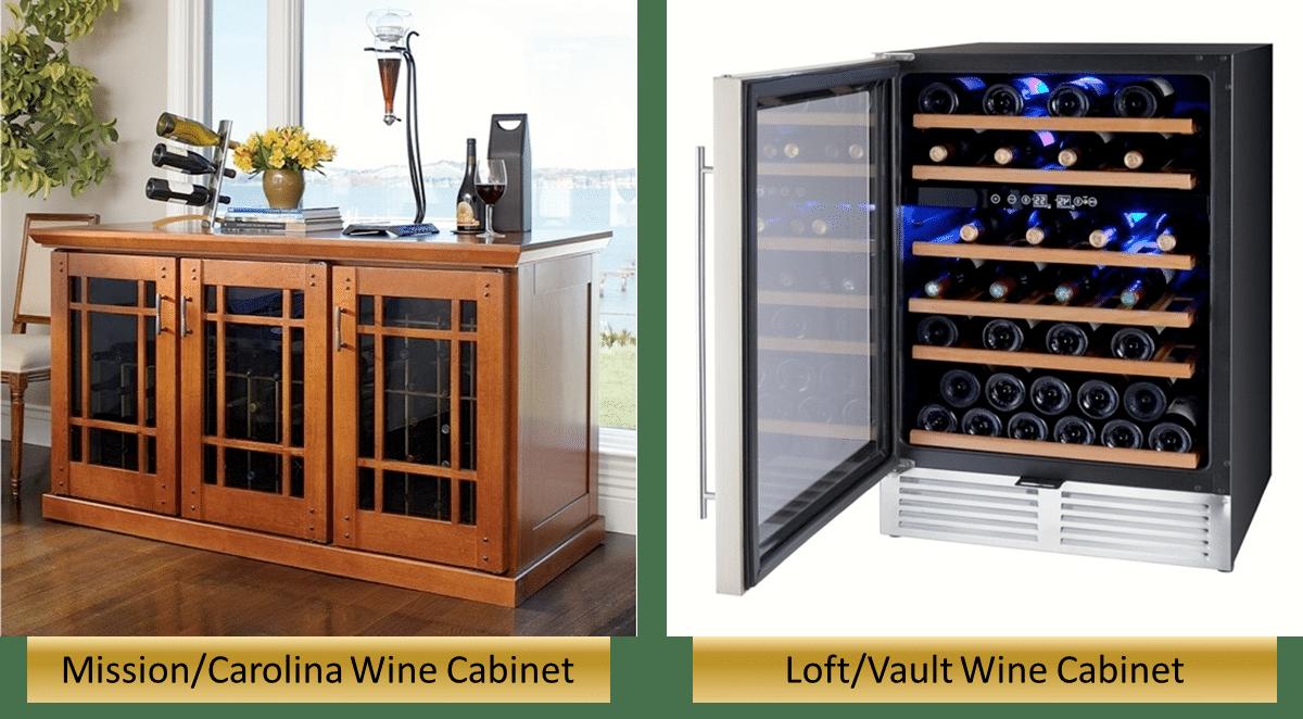 La Cache Wine Credenza : Le cache wine cabinets iwa accessories